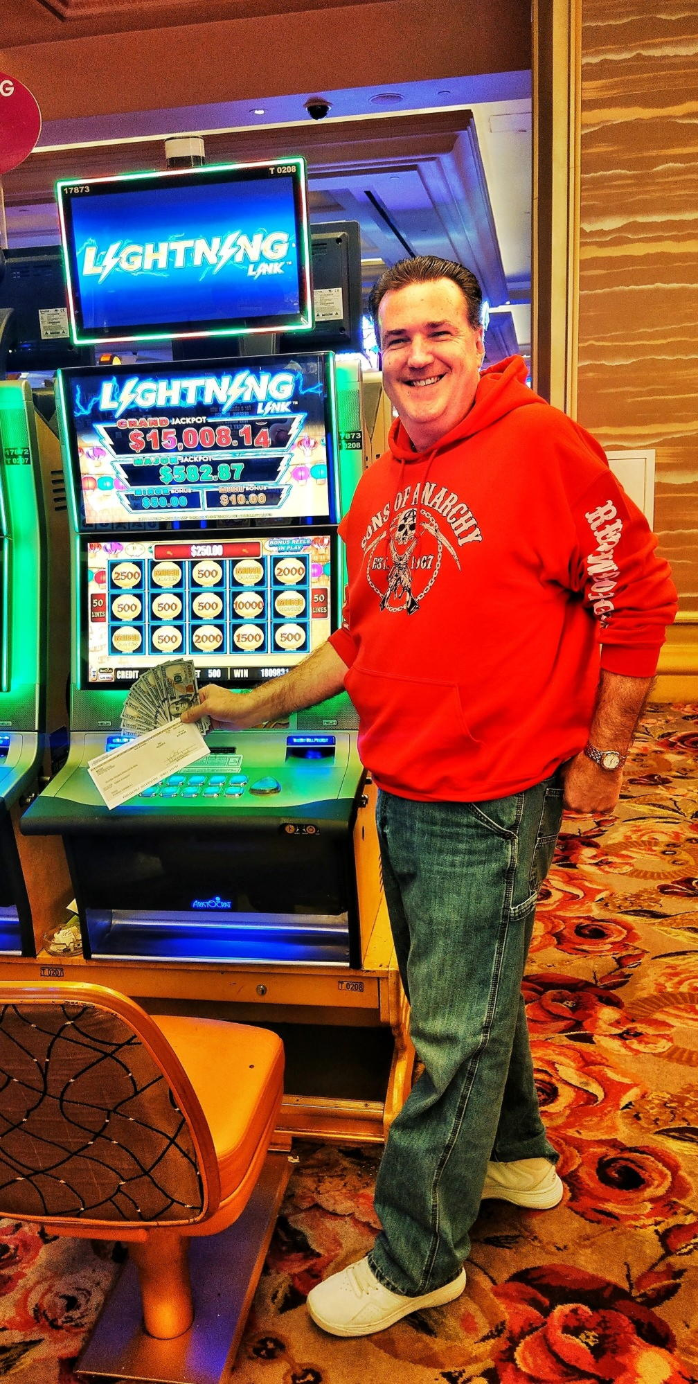 275% Match bonus at Party Casino